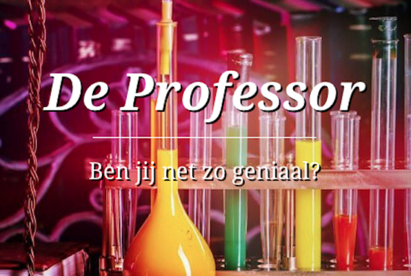 De Professor (Xitroom) Escape Room