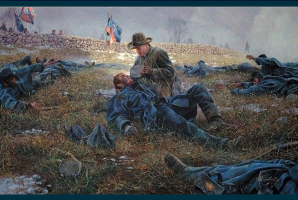 Rescue at the Battle of Fredericksburg