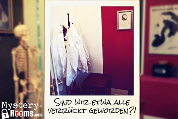 Flucht aus der Anstalt (MysteryRooms) Escape Room