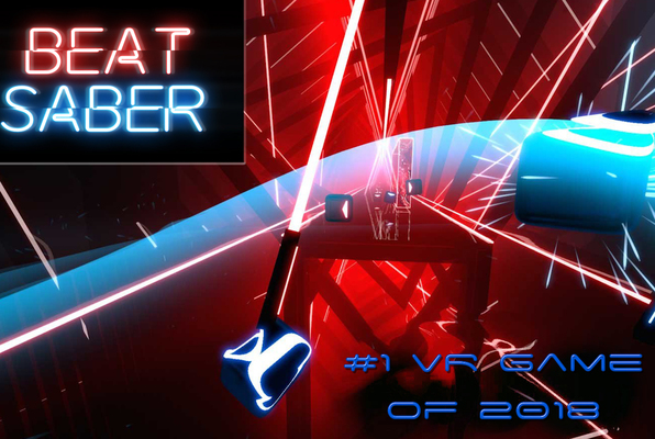 Beat Saber VR (The V Arcade) Escape Room