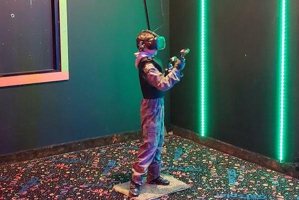 Super Hot VR (The V Arcade) Escape Room
