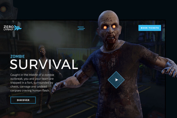 Zombie Survival VR (Zero Latency) Escape Room