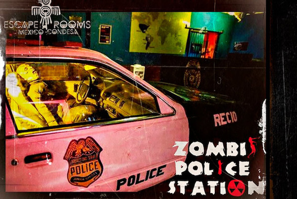 Zombie Police Station (Escape rooms Mexico) Escape Room