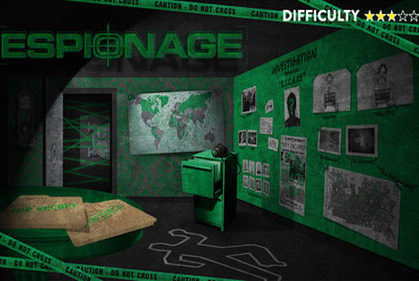 Espionage (Escape Peterborough) Escape Room