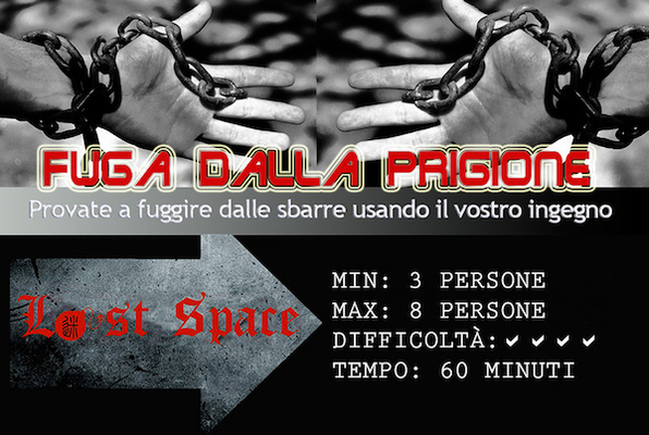 Fuga dalla Prigione (Lost Space) Escape Room