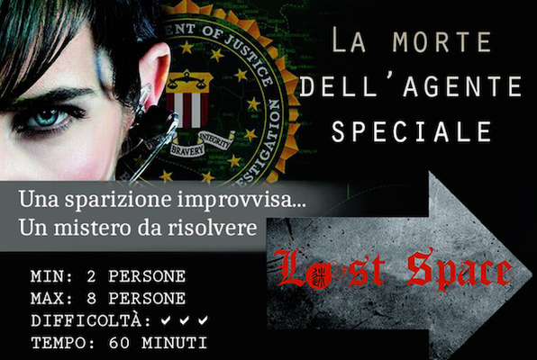 Morte dell'Agente Speciale (Lost Space) Escape Room