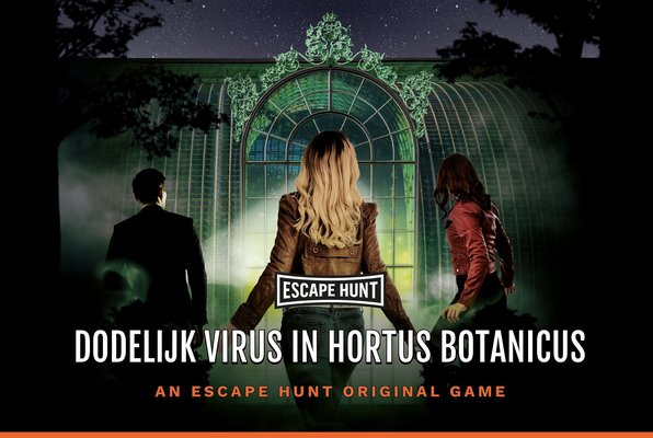 Dodelijk Virus in Hortus Botanicus (Escape Hunt) Escape Room