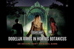 Квест Dodelijk Virus in Hortus Botanicus