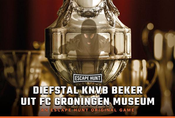 Diefstal KNVB Beker uit FC Groningen Museum