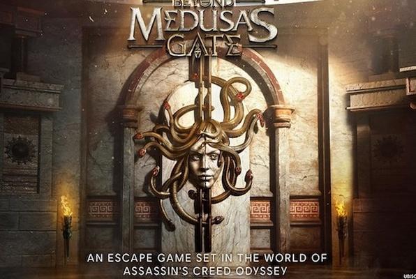 Beyond Medusa's Gate VR (The Rabbit Hole VR) Escape Room