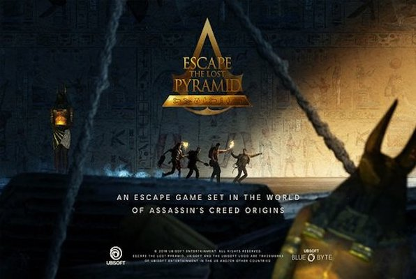 Escape the Lost Pyramid VR (Battlefield Houston) Escape Room