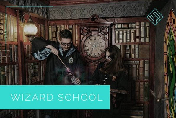 Wizard School (Logic Rooms) Escape Room