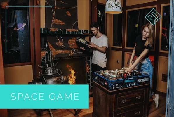 Space Game (Logic Rooms) Escape Room