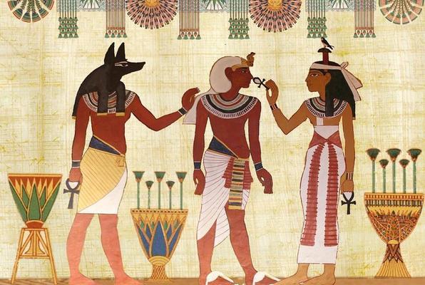 The Pharaoh's Golden Scorpion