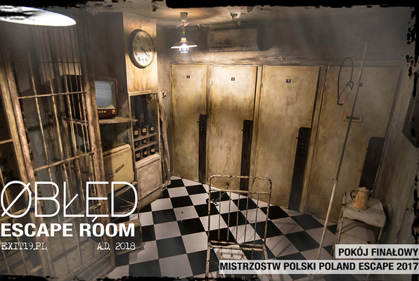 Obłęd (Exit19.pl) Escape Room