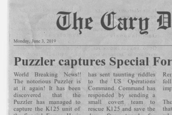 The Puzzler's Prisoner Escape