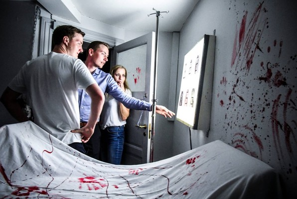 Crime Scene (Locked Randers) Escape Room