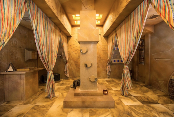 The Egyptian Tomb