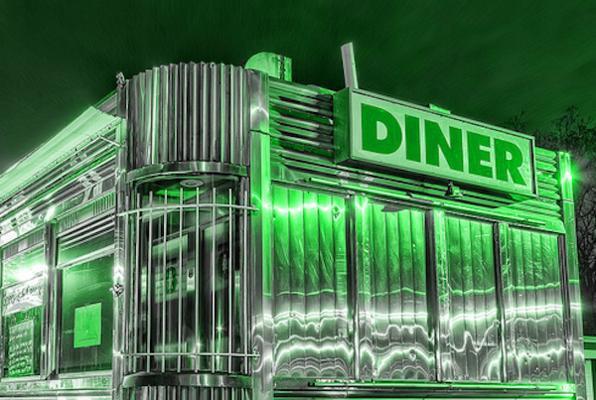 The Starlight Diner (Psych Escape Room) Escape Room