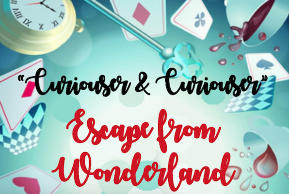 Curiouser and Curiouser: Escape from Wonderland (Family Fun Escape Rooms) Escape Room