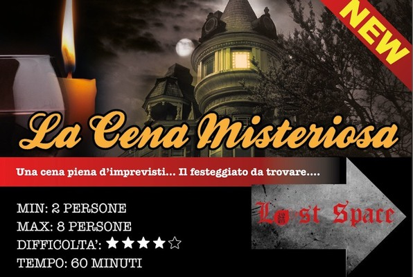 La Cena Misteriosa (Lost Space) Escape Room