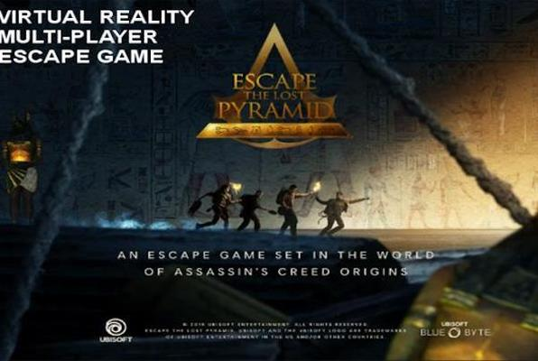 Escape The Lost Pyramid VR (Escapology) Escape Room