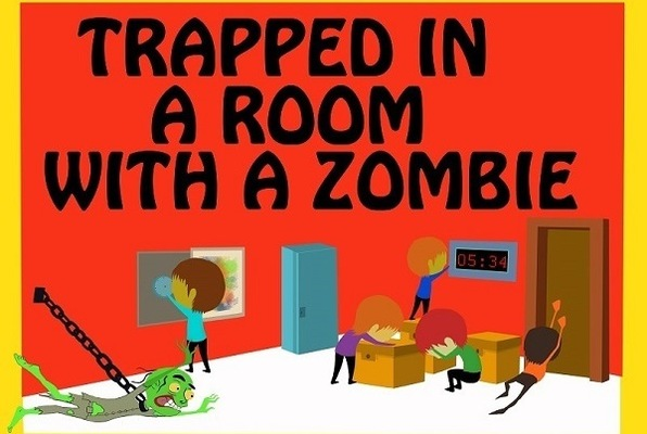 Trapped in a Room with a Zombie (Room Escape Adventures) Escape Room