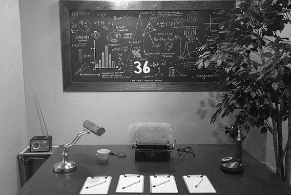 Relativity Room: 1939