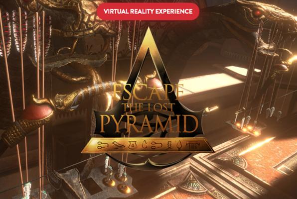Escape The Lost Pyramid VR (Red Door Escape Room Dallas) Escape Room