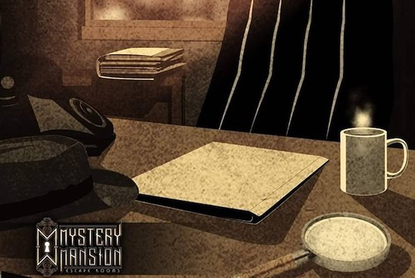 The Detective's Office (Mystery Mansion) Escape Room