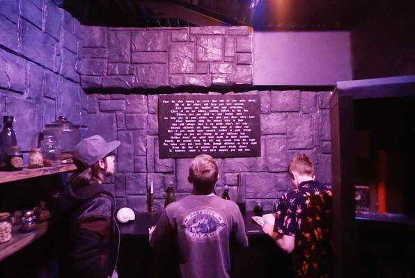 Wizard Hysteria (Alcatraz Escape Games) Escape Room