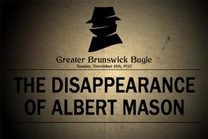 Квест The Disappearance of Albert Mason
