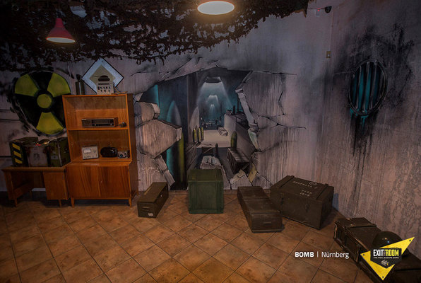 Bomb (Exit the Room Berlin) Escape Room