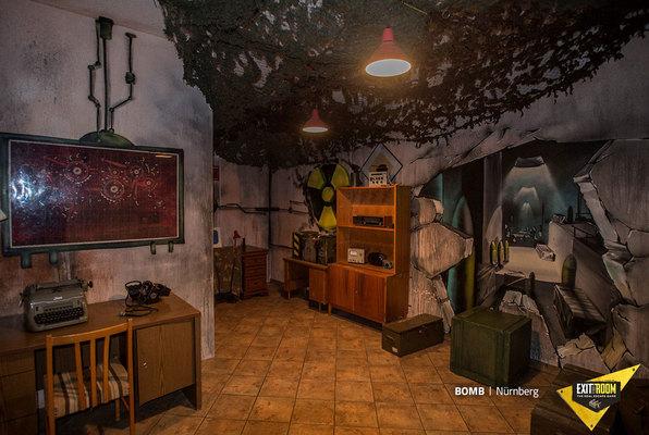Bomb (Exit the Room Düsseldorf) Escape Room