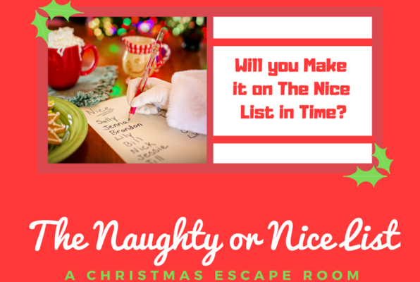 The Naughty or Nice List (The Mansion Escape Room) Escape Room