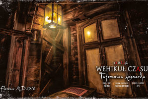 Квест Wehikuł Czasu – Tajemnica Leonarda