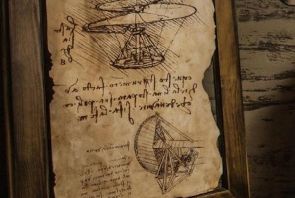 Leonardo Da Vinci (Room 125) Escape Room