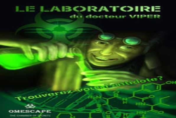 LE LABORATOIRE DU DOCTEUR VIPER (Omescape) Escape Room