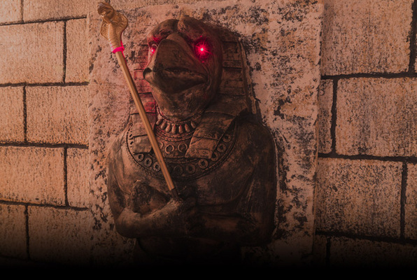 Tutankhamun's Tomb (GAME OVER Escape Rooms Porto) Escape Room