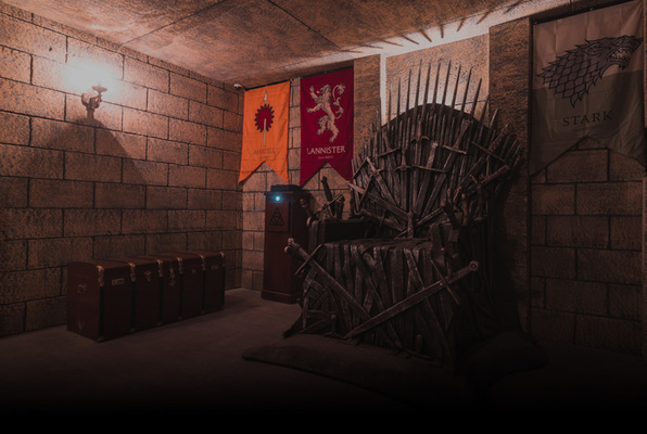 War of Thrones (GAME OVER Escape Rooms Lisbon) Escape Room