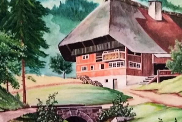 Die Verlassene Schwarzwald Hütte