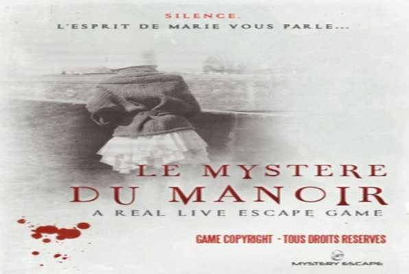 Le Mystère du Manoir (Mystery Escape) Escape Room