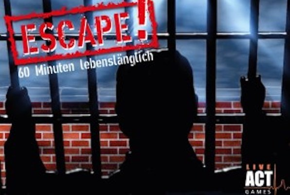 ESCAPE! 60 Min. lebenslänglich… (LiveActGames) Escape Room
