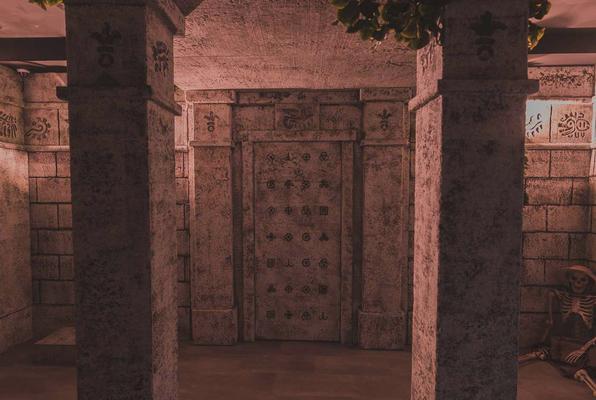 Il Tempio Proibito di Montezuma