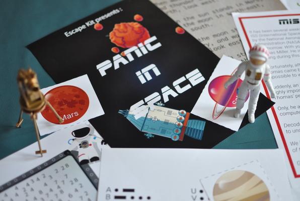 Panic in Space (Escape Kit) Escape Room