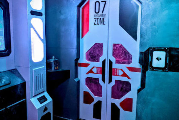 Frost Base Z (Rabbit Hole Recreation Services) Escape Room