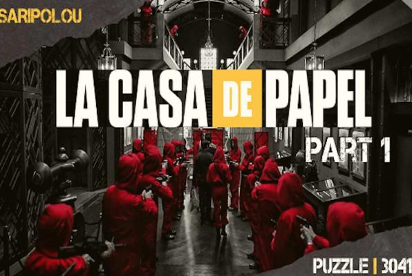 La Casa de Papel (Puzzle 3041 Escape Room Limassol) Escape Room