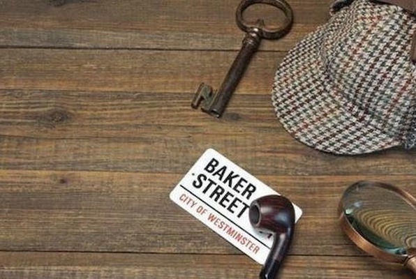 Sherlock's Library - Destination London (ALL IN Adventures Watertown) Escape Room