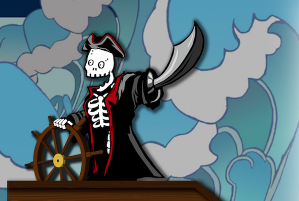 Captain Spoopy Bones and the Magnificent Quest for some Other Pirate's Treasure
