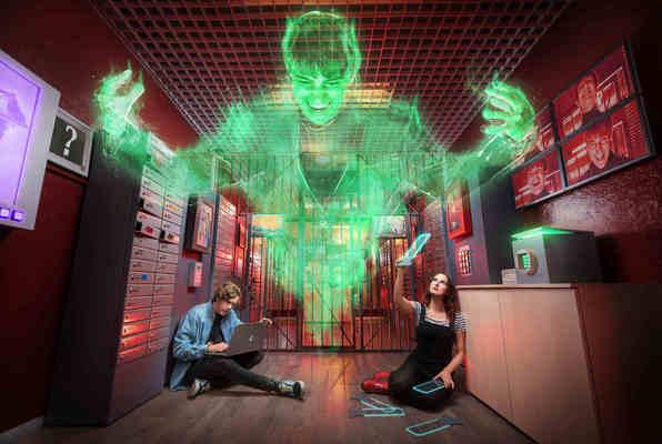 Nástrahy Moriartyho Fantoma (Questerland) Escape Room